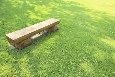 shady: Shady lawn Stock Photo