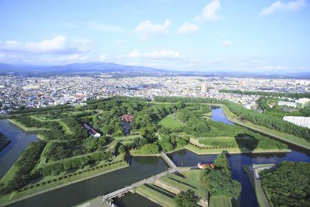 rui: Kameda government office soil Rui from Goryokaku Tower
