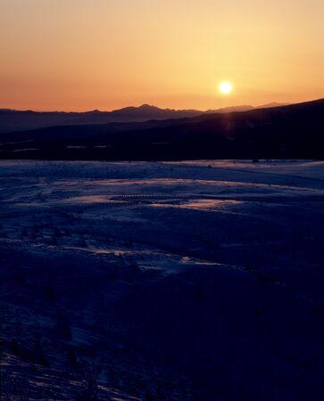 plateau: Utsukushigahara plateau of sunrise