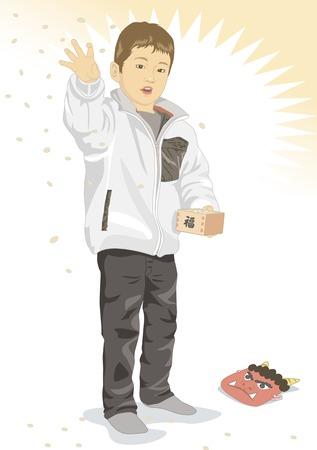maki: Boys have a bean maki