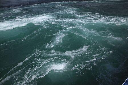 鳴門の渦潮 写真素材