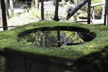 handwash: Campo Chozu del templo Foto de archivo