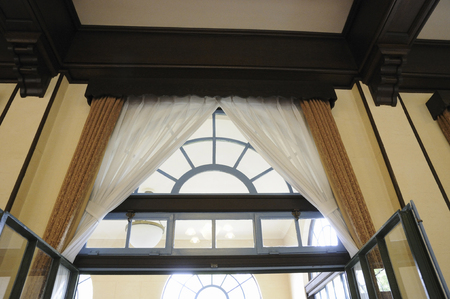 European-style building of the window design of