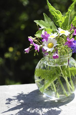 early summer: Early summer flower arrangement Stock Photo