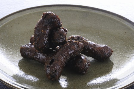 日本の菓子は黒かりんとう