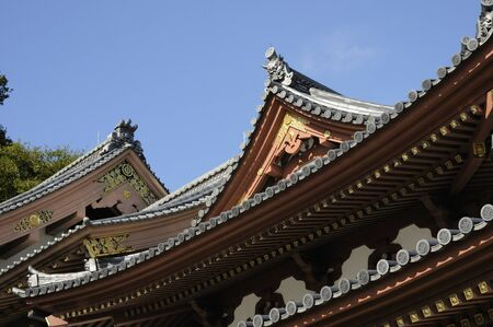 寺廟の屋根