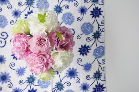 gentian flower: Flower arrangement Stock Photo