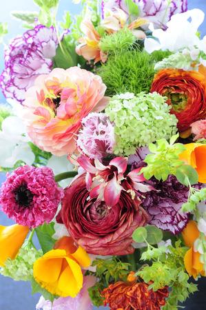 De lente in witte achterkant van de bloem van het bloemstuk Stockfoto