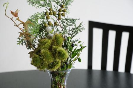 flower arrangements: Flower arrangements in the living room Stock Photo