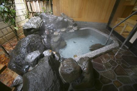 openair: Openair bath Stock Photo