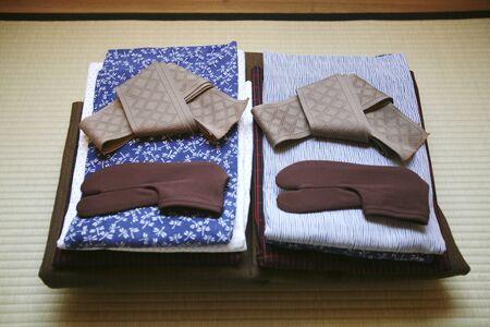 Pair of yukata
