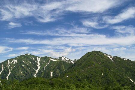 lingering: Of snow Asahigatake