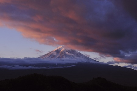 mid morning: Mt. Fuji