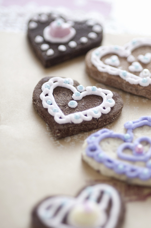 Heart of cookies