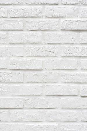 白いレンガの壁 写真素材