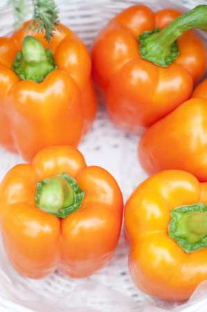 paprika: Orange paprika