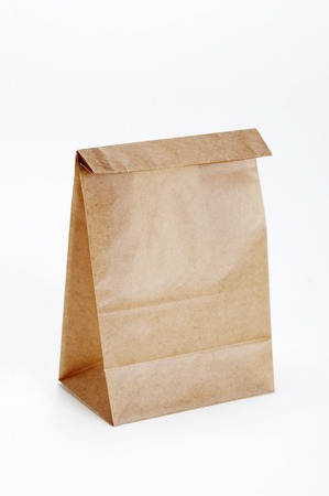 waxed: Paper bag Stock Photo
