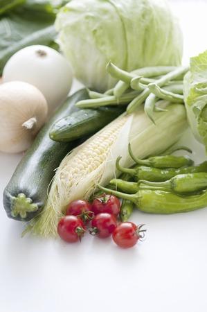 several: Vegetables several
