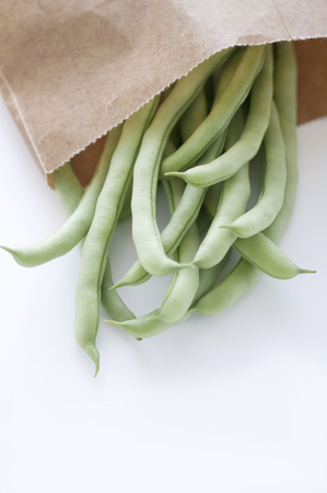 bean family: Green beans that went into the bag
