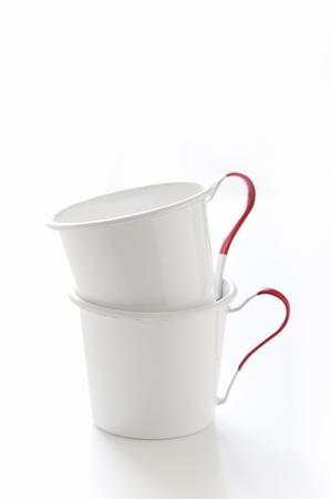enamel: Enamel mug