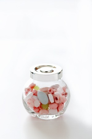 entered: Candy entered the bottle
