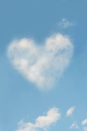 heartshaped: Heart-shaped clouds