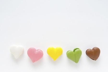heartshaped: Heartshaped macaroons