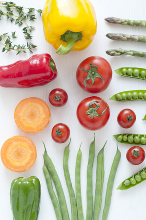 common bean: Colorful vegetables