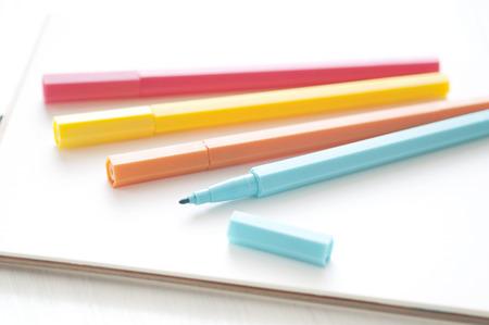 sketchbook: Color pen and sketchbook