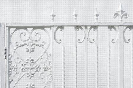 Iron fence 写真素材