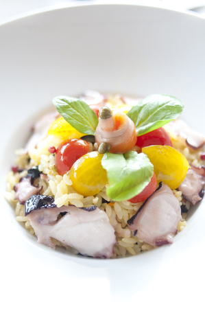 callus: Pilaf of octopus