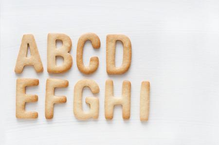 アルファベット クッキー