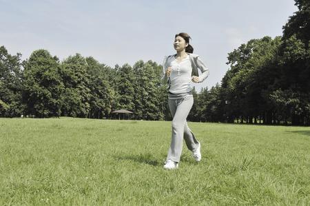 hombres corriendo: Los hombres y mujeres dispuestos a ejercer