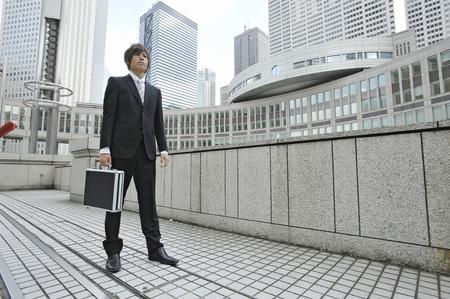 attache case: Attache case the businessman