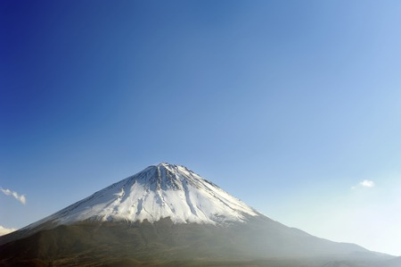 grandeur: The Snow-Covered the Fuji