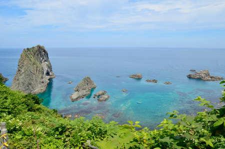 selections: Island Takeshi will coast Stock Photo