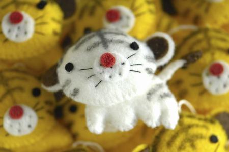 手工芸品の虎