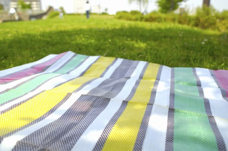 gleaming: Lawn and sheet Stock Photo