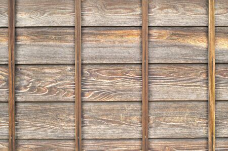 woodgrain: Fence of grain