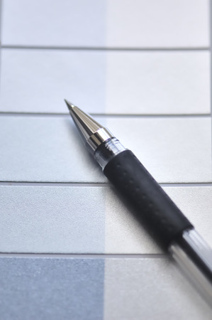 writing materials: Ballpoint pen Stock Photo