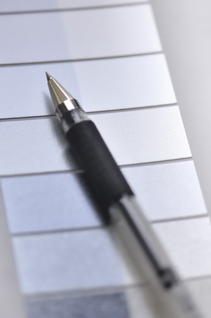 ballpoint pen: Ballpoint pen Stock Photo