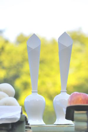 offerings: Offerings of Jugoya Stock Photo