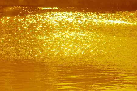 radiancy: Of the surface of the water Stock Photo