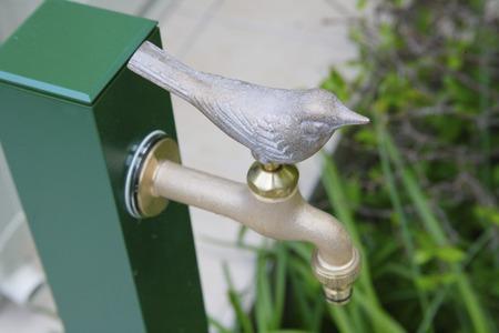 鳥の蛇口 写真素材