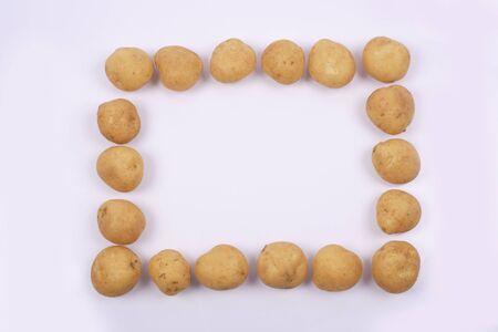 ジャガイモのフレーム