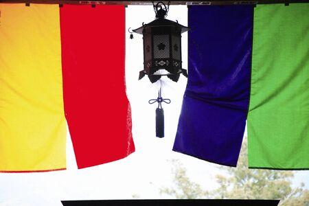 hase: Hanging lanterns Stock Photo