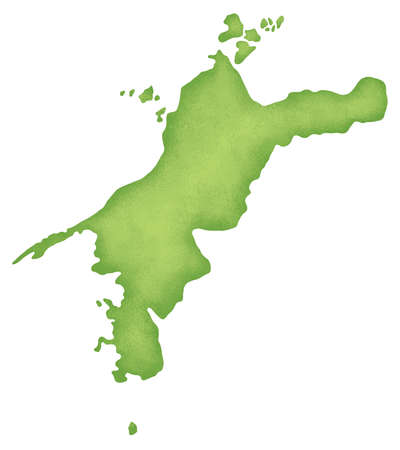 Ehime Prefecture map