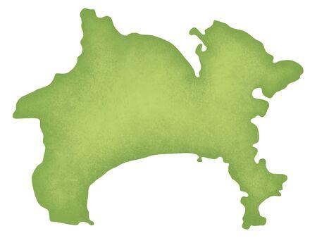 Kanagawa Prefecture map
