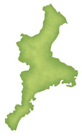 iga: Mie Prefecture map