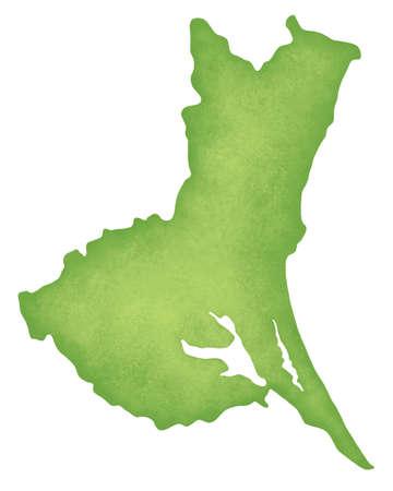 kanto: Ibaraki Prefecture map